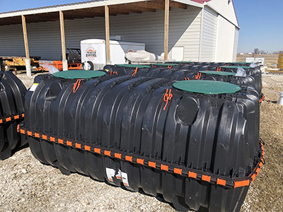 1000gl Plastic Septic Tank
