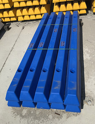 Blue Parking Curbs