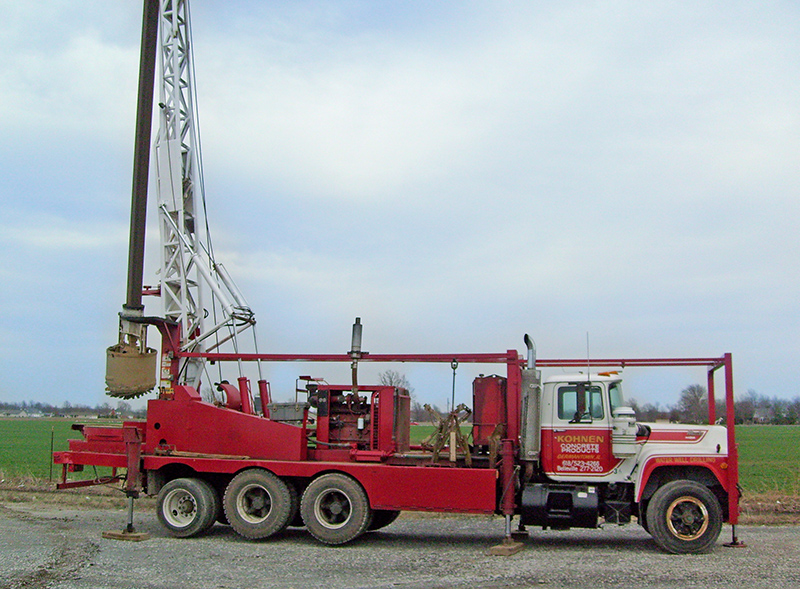 Boring Well Rig