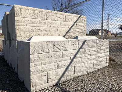 Decorative Commercial Retaining Block