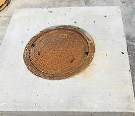 Storm Water Inlet – top view